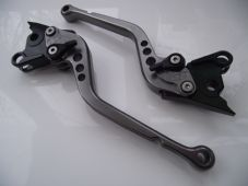Aprilia FALCO/SL1000 (00-04), CNC levers long titanium/black adjuster, DB80/DC80